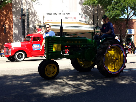 Small John Deere Tractor