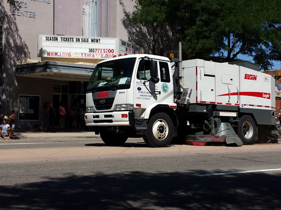 The End - street sweeper!