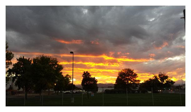 Sunset Longmont Colorado