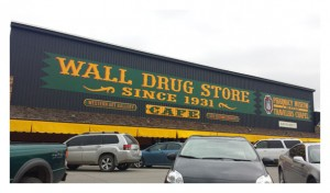 Wall Drug Store (since 1931)