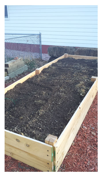 The newest raised bed